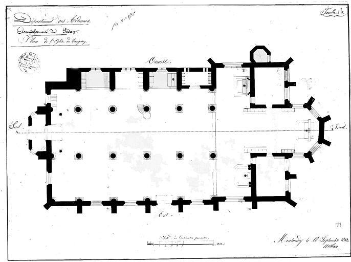 Plan général (feuille n° 1)