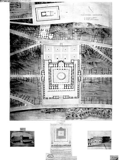 Restauration des thermes : Plan général (état restauré)