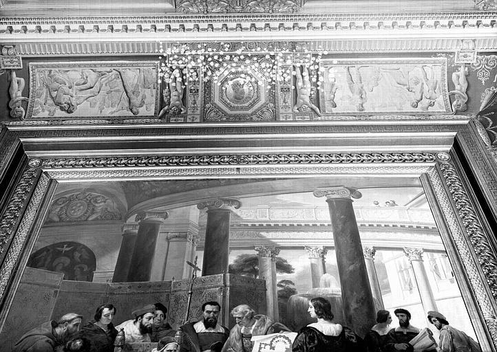 Galerie Charles X, voussures côté nord de la 2e salle