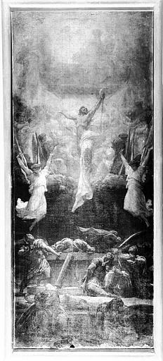 Peinture sur toile : La Résurrection