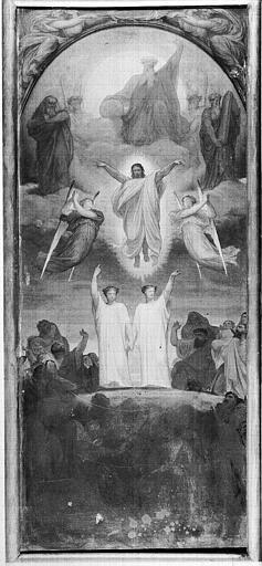 Peinture sur toile : L'Ascension