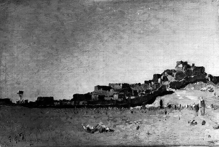 Peinture sur toile : Paysage d'Afrique du Nord