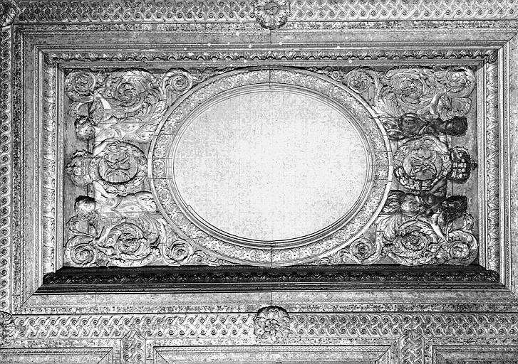 1e salle de la Colonnade : Partie centrale du plafond
