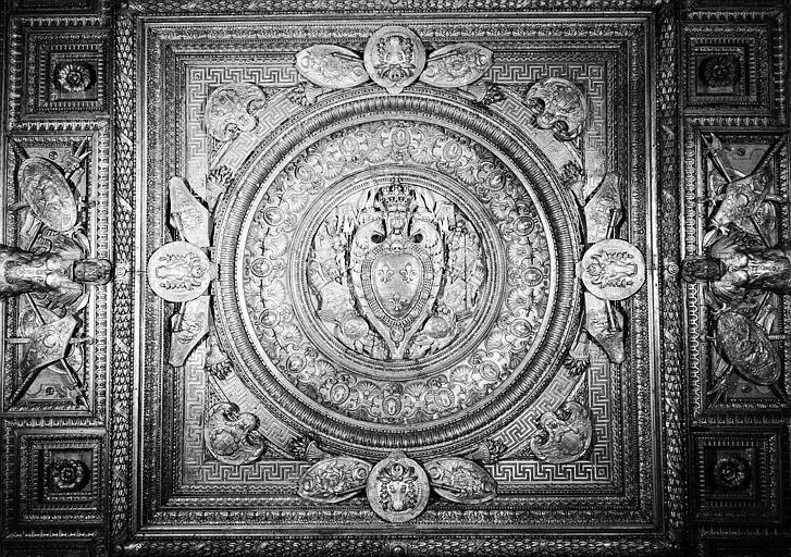Chambre de parade de Henri II : Plafond