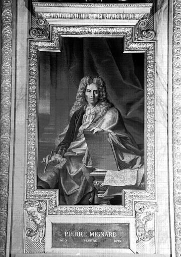 Galerie d'Apollon : Tapisserie représentant Pierre Mignard, peintre (1610-1695)