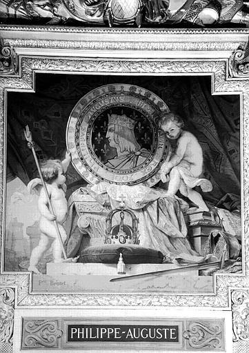 Galerie d'Apollon : Tapisserie représentant Philippe-Auguste