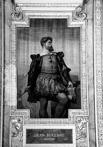 Galerie d'Apollon : Tapisserie représentant Jean Bullant, Architecte mort en 1578