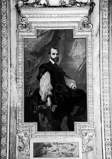 Galerie d'Apollon : Tapisserie représentant Jean Goujon, sculpteur mort en 1572