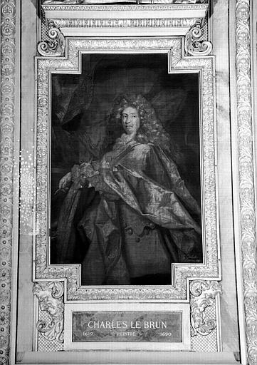 Galerie d'Apollon : Tapisserie représentant Charles Le Brun, peintre (1619-1690)