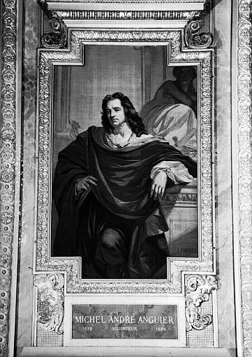 Galerie d'Apollon : Tapisserie représentant Michel-André Anguier, sculpteur (1612-1686)