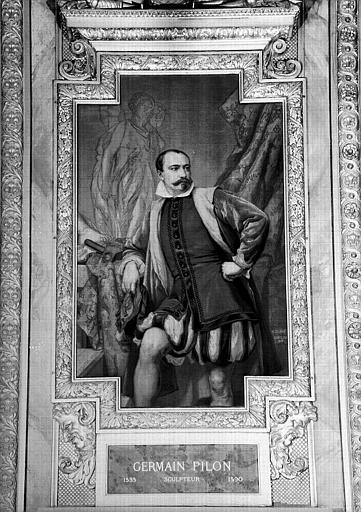 Galerie d'Apollon : Tapisserie représentant Germain Pilon, sculpteur (1535-1590)