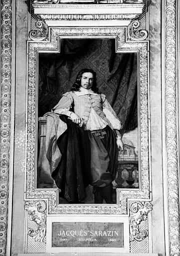 Galerie d'Apollon : Tapisserie représentant Jacques Sarazin, sculpteur (1590-1660)
