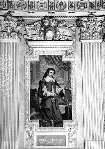 Galerie d'Apollon : Tapisserie représentant Eustache Le Sueur, peintre (1617-1655)