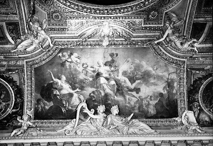 Galerie d'Apollon, peinture du plafond côté est : Le Printemps