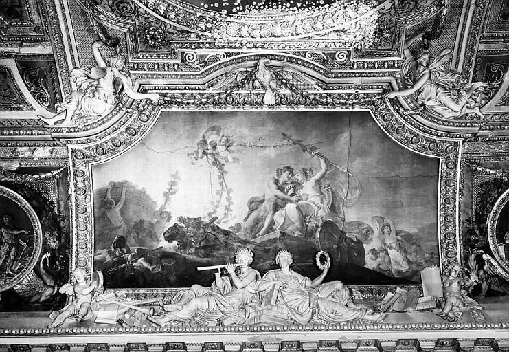Galerie d'Apollon, peinture du plafond côté est : L'Automne