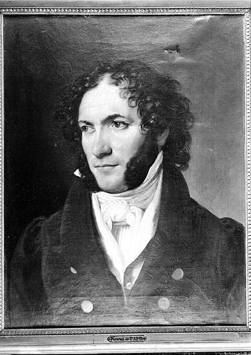 Peinture sur toile : Portrait de Ferdinando Paër