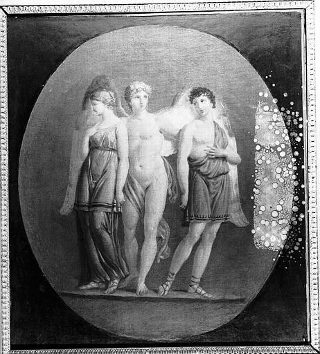 Peinture sur toile : Allégorie de l'Hymen
