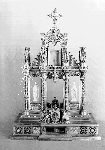 Reliquaire du Talisman de Charlemagne (face)