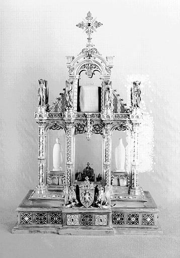 Reliquaire du Talisman de Charlemagne (dos)