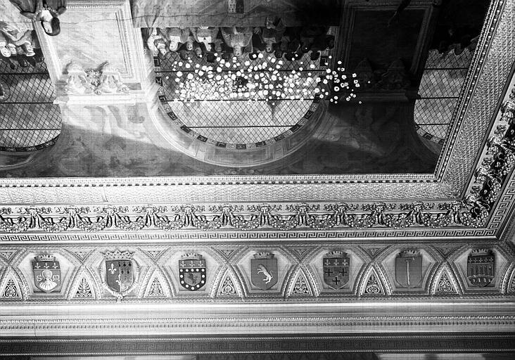 Galerie Campana : Voussure sud de la 8e salle (partie droite)