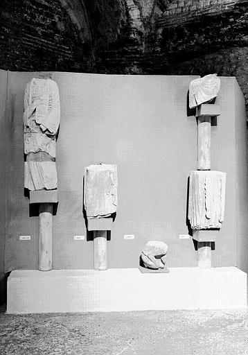 Fragments de statue
