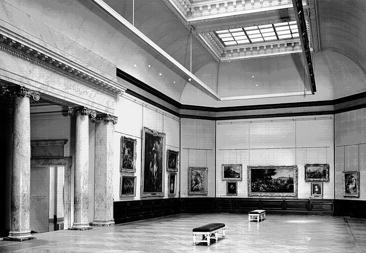 Salle Van Dyck : Vue d'ensemble