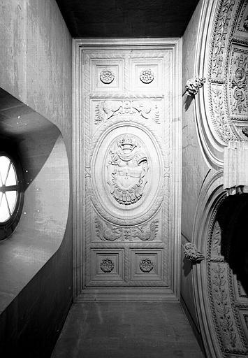 Escalier Henri II : Plafond du 1e palier