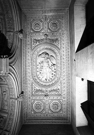 Escalier Henri II : Plafond du 2e palier