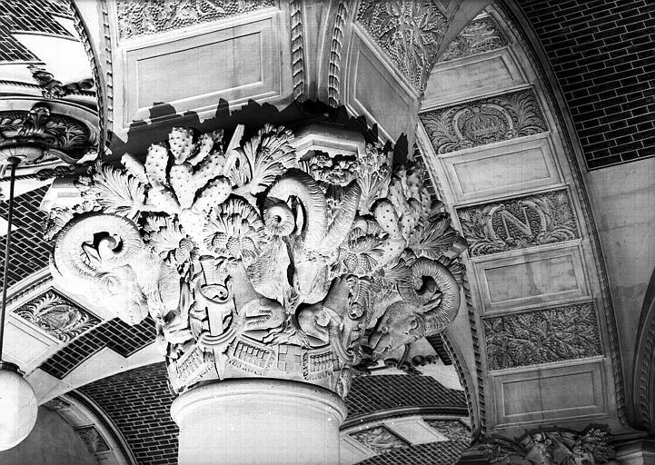 Salle du Manège, chapiteau : Le mouflon de Corse
