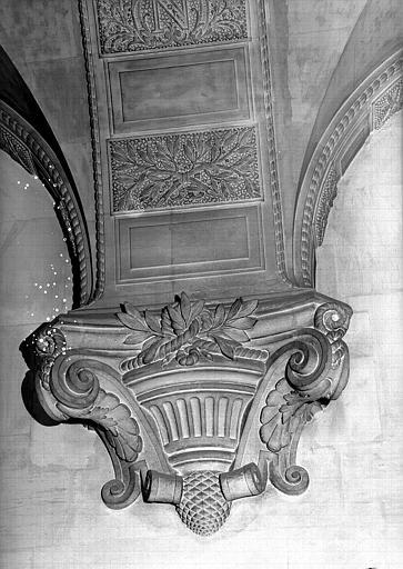 Salle du Manège : Cul-de-lampe