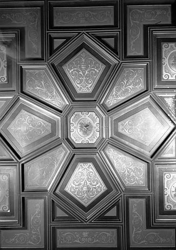 Direction des Musées : Partie centrale du plafond du bureau
