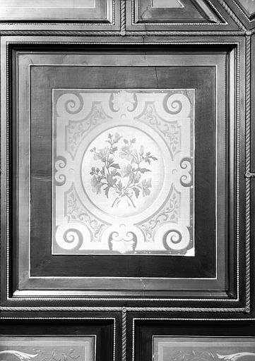 Direction des Musées : Un angle du plafond du bureau