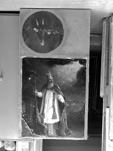 Peinture sur toile : Saint Eloi