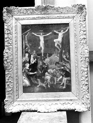 Peinture sur toile : La Crucifixion