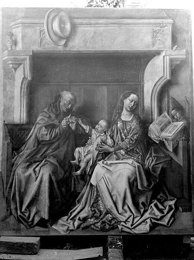 Peinture (Sacristie) : Sainte Famille dit le Maître de Flémalles