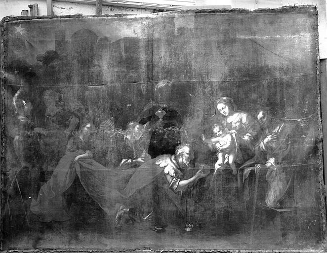 Peinture : Adoration des mages