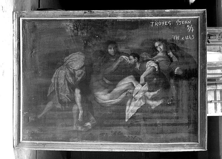 Peinture sur toile : Déposition de Croix