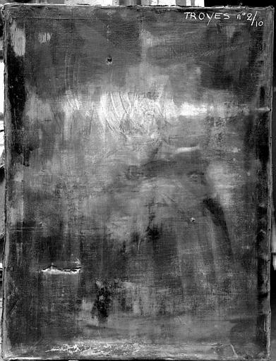 Peinture sur toile : Religieuse en adoration devant le saint Sacrement