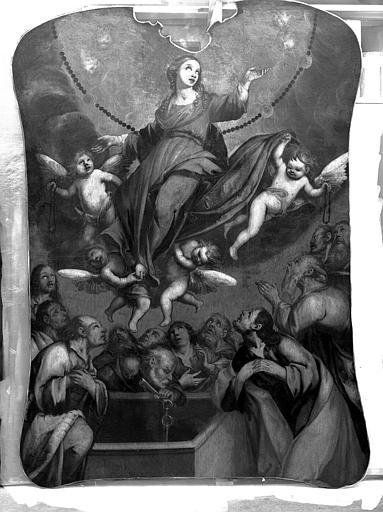 Peinture sur toile : L'Assomption de la Vierge