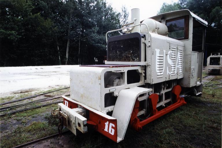 Locomotive Baldwin 50 HP