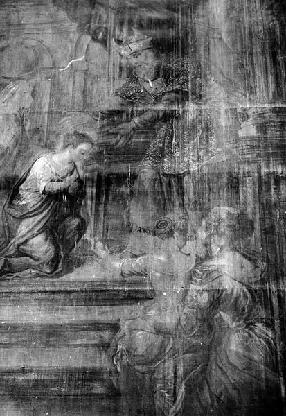 Tableau : La Présentation de la Vierge au Temple