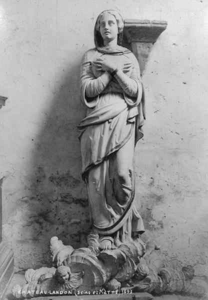 groupe sculpté : La Vierge de l'Assomption