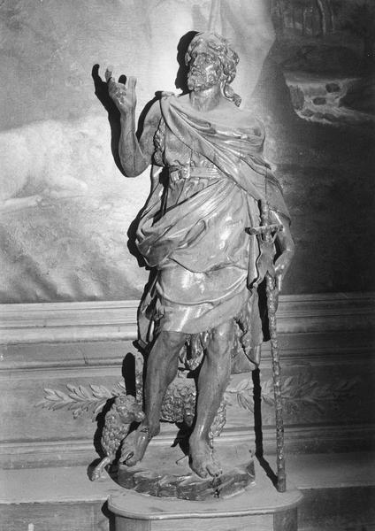 Statue : Saint Jean-Baptiste