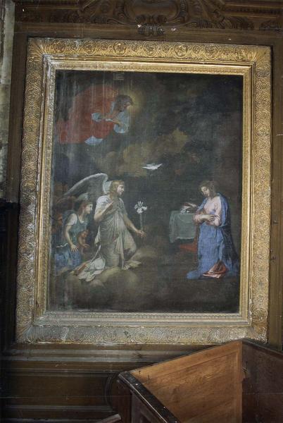 Tableau d'autel : L'Annonciation