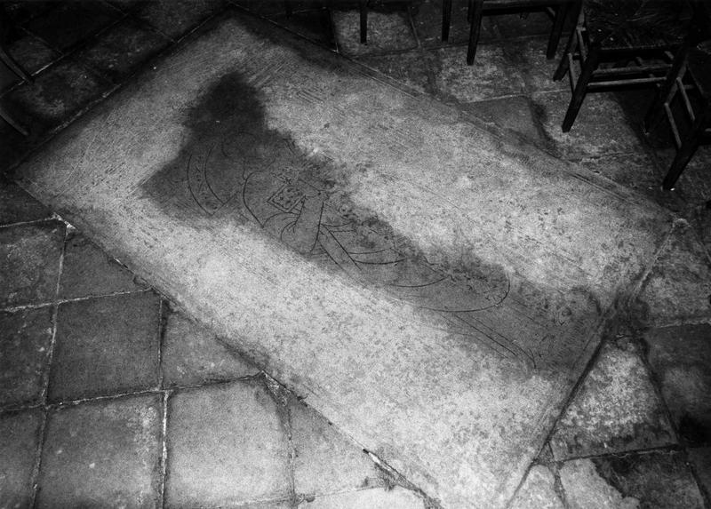 Dalle funéraire de Jehan Durand, mort en 1622