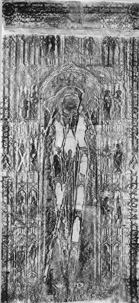 Dalle funéraire de Jean de Marcilly, mort en 1507