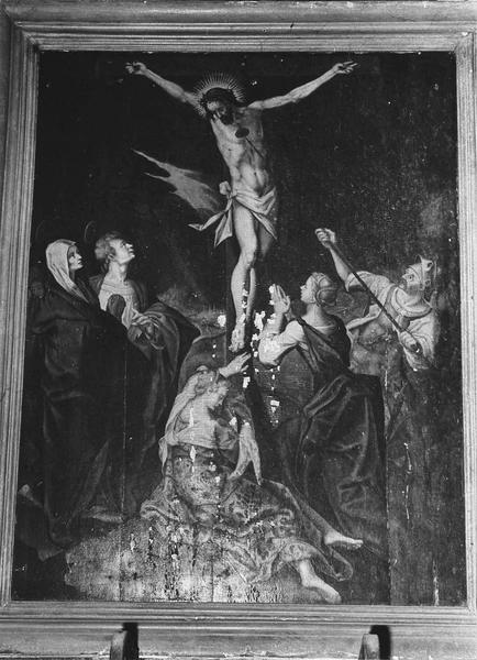 Tableau : Le Christ au Calvaire