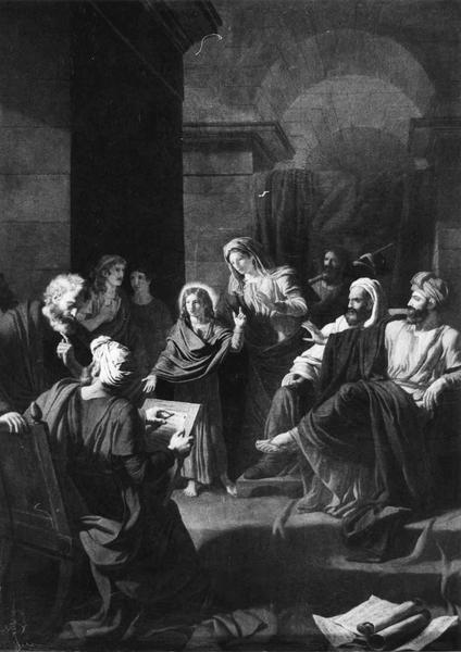 Tableau : Jésus parmi les docteurs