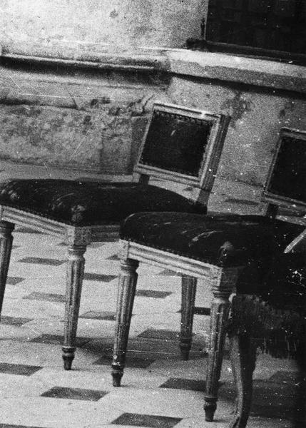 fauteuil de célébrant, 4 sièges