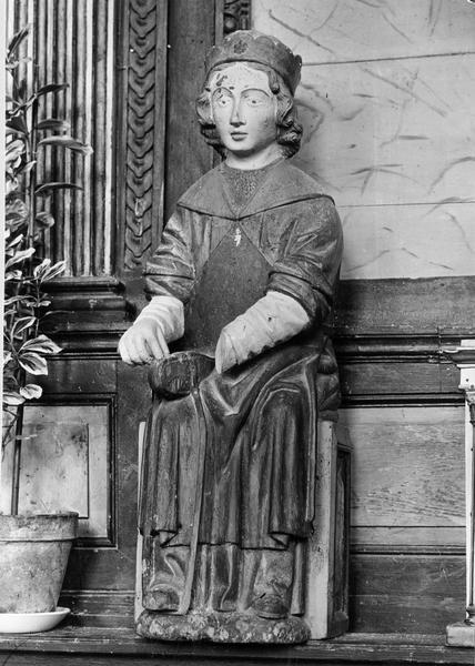 Statue : saint Crépin, vue générale